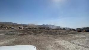 تصویر افرادی در ارتباط با آتش سوزی محل زباله شهرک صنعتی اشتهارد بازداشت شدند