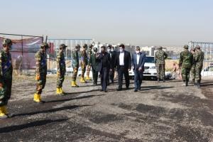 تصویر اولین پروژه تامین مسکن برای مردم در راستای سیاست های دولت سیزدهم در البرز کلید خورد
